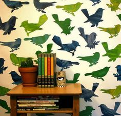 BOYS ROOM? The wallpaper could be so fun in a lot of different spaces, IMO