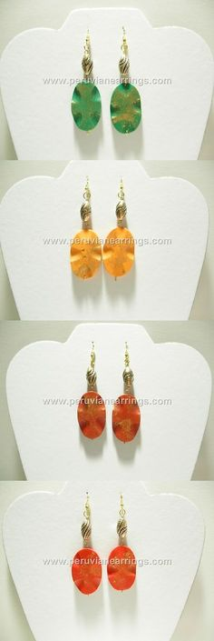 Other Wholesale Earrings 51015: Wholesale 10 Pairs Of Painted Wood Earrings Boho Bohemian Fashion Style #450 -> BUY IT NOW ONLY: $39.99 on eBay!