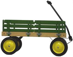I love these Amish wagons but they're very expensive. I wonder if I could make my own.