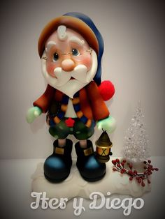 Noel de shorts Polymer Clay Sculptures, Polymer Clay Crafts, Diy Clay, Christmas Clay, Winter Christmas, Holiday, Clay Fairy House, Biscuit, Clay Fairies