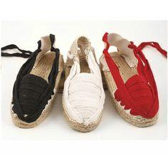 Traditional Espadrilles with Cotton Laces | Women's Espadrilles | Spanish Fashion - SPANISH SHOP ONLINE | Spain @ your fingertips