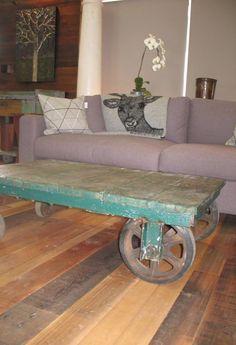 $849. Vintage Luggage Trolley