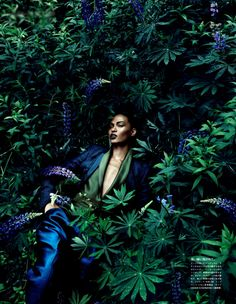 "before you kill us all: EDITORIAL Vogue Japan December 2011 ""Forgiving Wilderness"" Feat. Joan Smalls by Sølve Sundsbø"