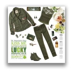 """Olive green"" by deborah-518 ❤ liked on Polyvore featuring Martha Stewart, Hollister Co., Sans Souci, Cape Robbin, Monique Lhuillier, Ann Taylor, Victor Velyan, Rolex, Givenchy and Gucci"