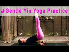Gentle Yin Yoga Video - Full 45 minute Class #yinyoga #yoga #michellegoldstein #heartalchemyyoga