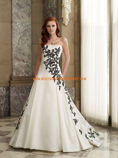 Robe de mariée princesse touche couleur