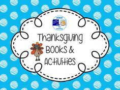 Thanksgiving Books and Activities Pinterest Board
