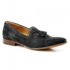 Men's Suede Loafers #aquila #loafer #suede #tassel #leathersole #italy #summer #fashion #Brayshaw #Grey