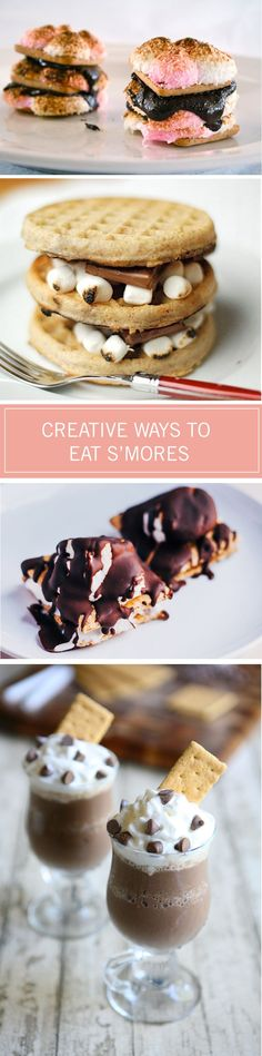 Relish in this summertime treat with these 24 creative ways to make s'mores. From ice cream sandwiches to marshmallow cookies, the s'mores lover in your life will be drooling over these recipes.