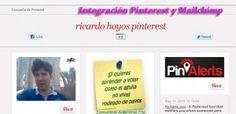 Como integrar Pinterest con Mailchimp......(pinned by @jagtomas #ixu)