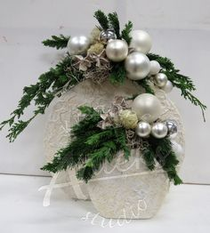 In this DIY tutorial, we will show you how to make Christmas decorations for your home. The video consists of 23 Christmas craft ideas. Christmas Flower Decorations, Christmas Arrangements, Floral Arrangements, Christmas Wreaths, Christmas Crafts, Christmas Ornaments, Holiday Decor, Thanksgiving Gifts, Deco Table