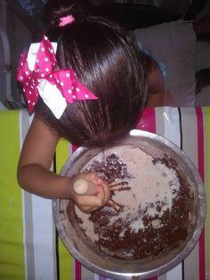 Mams De Deux Bambinos: Gâteau au chocolat en fome de cheval avec le moule...