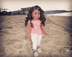 Gabriela at the Beach!! #agig #americangirldolls #americangirlbrand #joy2everygirl #americangirl #blackdollsarebeautiful #americangirlphotography #agphotography #aggoty #americangirloftheyear #agdocgoty #americangirldolls #agdollofcolor #agdoc #americangirldollsofcolor #americangirlgabriela #americangirlgabrielamcbride #aggabby #aggabrielamcbride