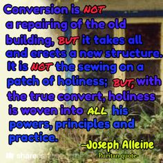 """Joseph Alleine (1633-1668) was an English Nonconformist pastor and author of many religious works. Alleine's model of Puritan evangelism is well suited to correct contemporary distortions of the Gospel. At Oxford, Alleine would sit at the feet of such divines as John Owen and Thomas Goodwin. Alleine's pulpit and pastoral ministry was richly blessed. Richard Baxter was impressed with Alleine's """"great ministerial skillfulness in the public explication and application of the Scriptures-so…"""