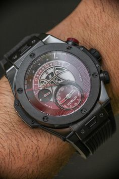 "Hublot Big Bang Unico Retrograde Chronograph Kobe ""Vino"" Bryant Watch"