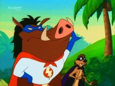 Super Timon and Pumbaa