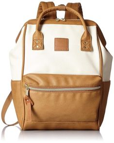 c7cd6657bd19e8 Anello Faux Leather Backpack AT-B1212 (MINI SIZE) Ivory Camel From Japan  F/S #fashion #clothing #shoes #accessories #womensbagshandbags (ebay link)