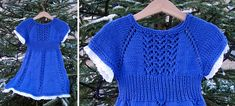 Ellie's Knitted Birthday Dress [FREE Knitting Pattern]