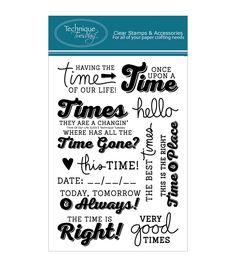 Time Sayings.