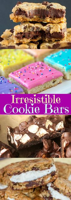 Irresistible Cookie Bars
