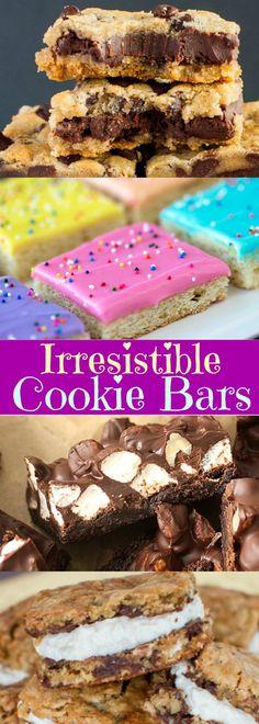 Irresistible Cookie Bars
