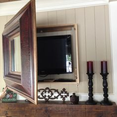 New Mirror Cabinet Tv Cover