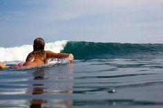Best feeling ever | Getting wet | Surfer girl