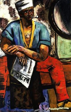 Sailor Artwork by Max Beckmann Hand-painted and Art Prints on canvas for sale,you can custom the size and frame