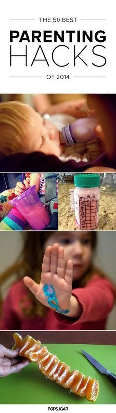 The year's most genius parenting hacks! Awesome tips for parents!