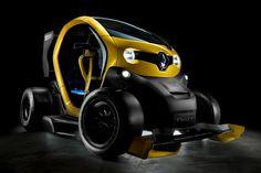 Twizy se transforma em mini-carro de F1 - Carros - iG