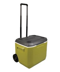 Look at this Coleman Olive Wheeled 50-Qt. Cooler on #zulily today!