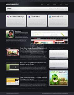 L'organisation de ce site me plaît bien. C'est simple mais tout y est: bannière, pub, contenu. Tout est bien divisé. Content, Simple, Blog, Design, Organisation, Everything, Blogging, Design Comics
