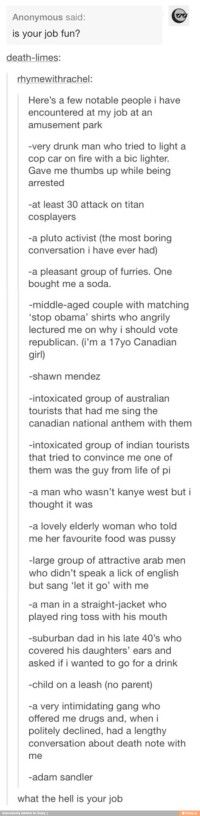 so we're just gonna ignore the fact that she's canadian and can't spell Shawn Mendes right?