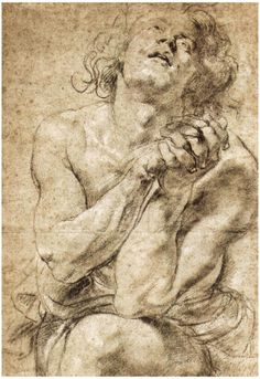 Peter Paul Rubens Study of Daniel in the Lions Den Art Print Poster Print - at AllPosters.com.au
