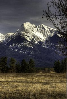 ✮ Mission Mountains - Between Arlee and Ronan, Montana - truly breathtaking mountains!