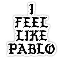 KANYE WEST - I FEEL LIKE PABLO  Sticker