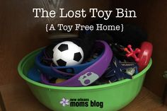 The Lost Toy Bin The sound of Hot Wheels rolling across the floor, the reveal of Etch-a-Sketch Art and the roars of Sorry! battles being fought make my heart happy. When my kids go to bed, though, I want no trace of them. I want a clean, neat home without a primary colored piece of …