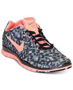 Nike Women's Shoes, Free TR Print 3 Cross Training Sneakers - Sneakers - Shoes - Macy's from Macys. Saved to Shoes. #nike #leopard #sneakers #ineed #cheetah #cyanerd #cute #pink.