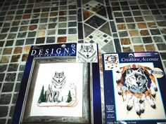 NEW Dimensions Creative Accents Native Wolf 7984 Counted Cross Stitch Kit 5x7 #CreativeAccents