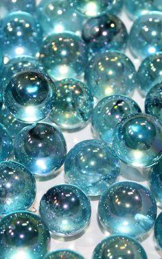 Aqua Aura Quartz Crystal Spheres