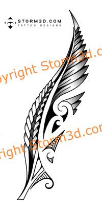 maori-silver-fern-New-Zealand-tattoo-images | Flickr - Photo Sharing!