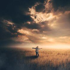 Hugging the sky by Dan Ludeman on 500px