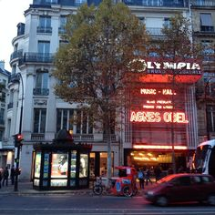 Of historical importance: L'Olympia.