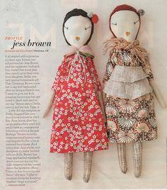 handmade dolls, precious