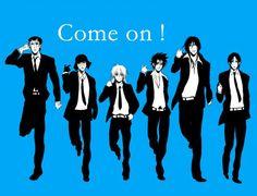 Tags: Blue, Rurouni Kenshin, Himura Kenshin, Sagara Sanosuke, Makoto Shishio, Aoshi Shinomori
