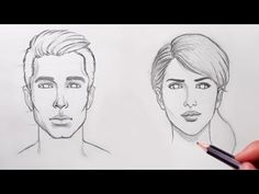 How to Draw Faces for Beginners - YouTube