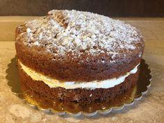 Franci's sweets - senza glutine: Torta morbida alla zucca con crema al limone