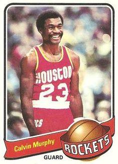 Houston Rockets Basketball, Basketball Legends, Basketball Cards, Football Cards, Basketball Players, Baseball Card Packs, Old Baseball Cards, Calvin Murphy