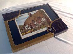 "6 Pimpernel Cork-Backed Placemats English Cottages 9.25"" X 12.25"" #Pimpernel"