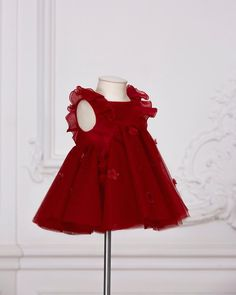 """94bc3ab53af36 Baby Dior official on Instagram: """"In some parts of the world, the color red  is considered a bringer of happiness. Make your little girl the ..."""